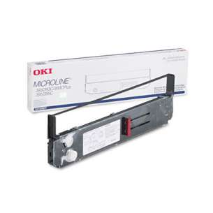 OEM Okidata 52103601 Black Original Ink Ribbon Cartridge