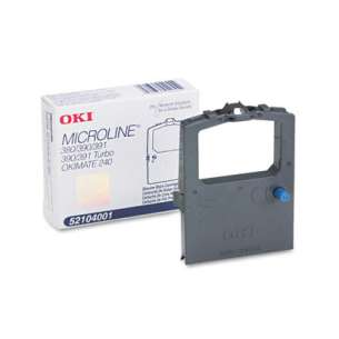 OEM Okidata 52104001 Black Original Ink Ribbon Cartridge