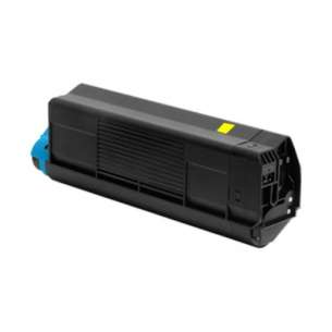 Compatible Okidata 42127405 toner cartridge - yellow