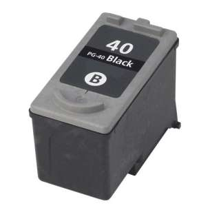 Remanufactured Canon PG-40 inkjet cartridge - black cartridge