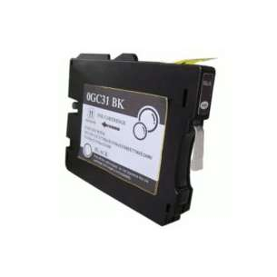 Compatible ink cartridge to replace Ricoh 405688 (GC31BK) - black cartridge