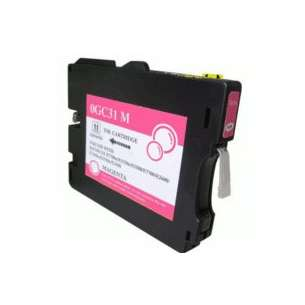 Compatible ink cartridge to replace Ricoh 405690 (GC31M) - magenta