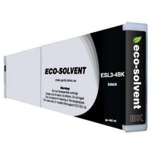 Compatible ink cartridge to replace Roland ESL3-4BK - eco-sol max black