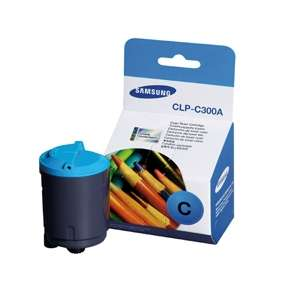 Original Samsung CLP-C300A toner cartridge - cyan