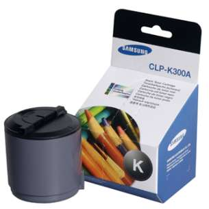 Original Samsung CLP-K300A toner cartridge - black cartridge
