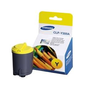 Original Samsung CLP-Y300A toner cartridge - yellow