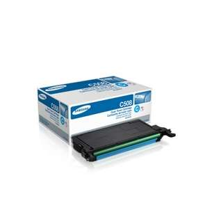 Original Samsung CLT-C508S toner cartridge - cyan
