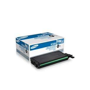Original Samsung CLT-K508S toner cartridge - black cartridge