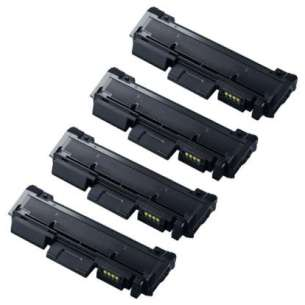 Compatible Samsung MLT-D116L toner cartridges - 4-pack
