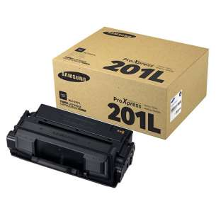 Original Samsung MLT-D201L toner cartridge - high capacity black