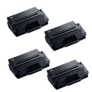 Compatible Atlantic Inkjet Canada Samsung MLT-D203E toner cartridges - extra capacity black - 4-pack