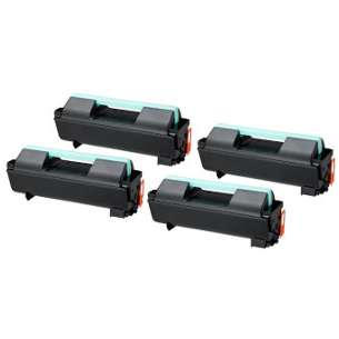 Compatible Samsung MLT-D309L toner cartridges - high capacity black - 4-pack