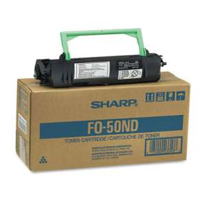 Original Sharp FO-50ND toner cartridge - black cartridge