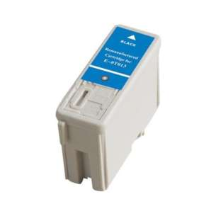 Remanufactured Epson T013201 inkjet cartridge - black cartridge