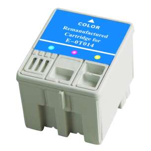 Remanufactured Epson T014201 inkjet cartridge - color cartridge
