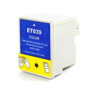 Remanufactured Epson T039020 inkjet cartridge - color cartridge