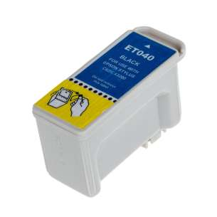Remanufactured Epson T040120 inkjet cartridge - black cartridge