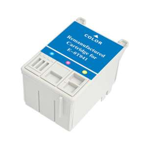 Remanufactured Epson T041020 inkjet cartridge - color cartridge