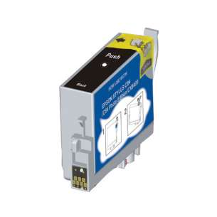 Remanufactured Epson T043120 inkjet cartridge - high capacity black