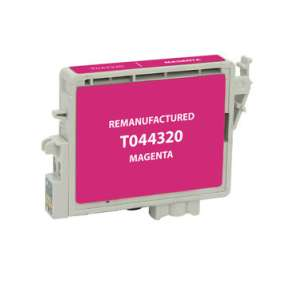 Remanufactured Epson T044320 inkjet cartridge - magenta