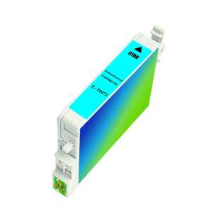 Remanufactured Epson T047220 inkjet cartridge - cyan