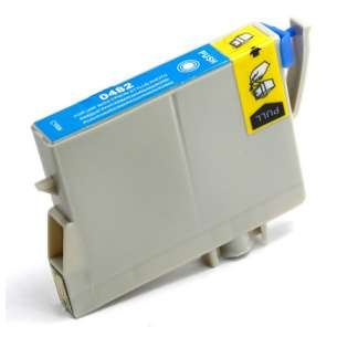 Remanufactured Epson T048220 (48 ink) inkjet cartridge - cyan