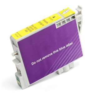 Remanufactured Epson T048420 (48 ink) inkjet cartridge - yellow