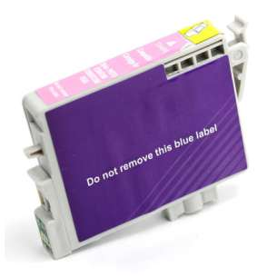 Remanufactured Epson T048620 (48 ink) inkjet cartridge - light magenta