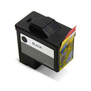 Remanufactured Dell T0529 (Series 1 ink) inkjet cartridge - black cartridge