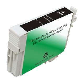 Remanufactured Epson T0731 inkjet cartridge - black cartridge