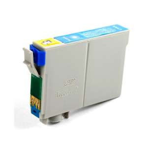 Remanufactured Epson T0732 inkjet cartridge - cyan