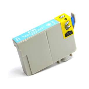 Compatible ink cartridge to replace Epson T504201 - light cyan